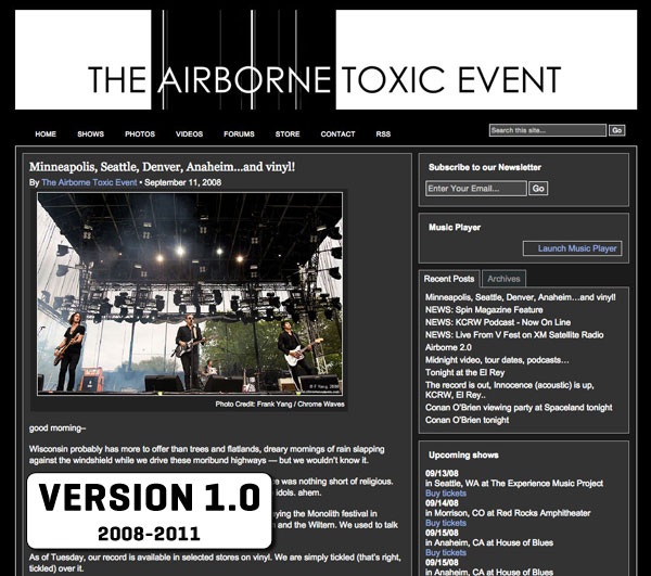 The Airborne Toxic Event 1.0
