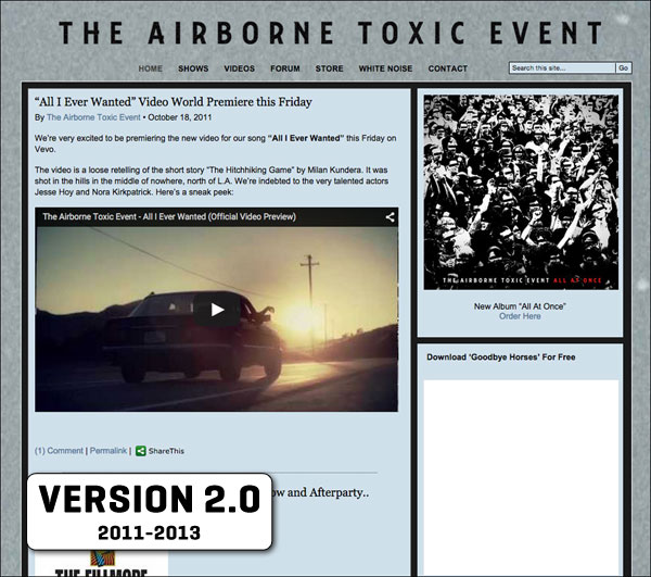 The Airborne Toxic Event 2.0