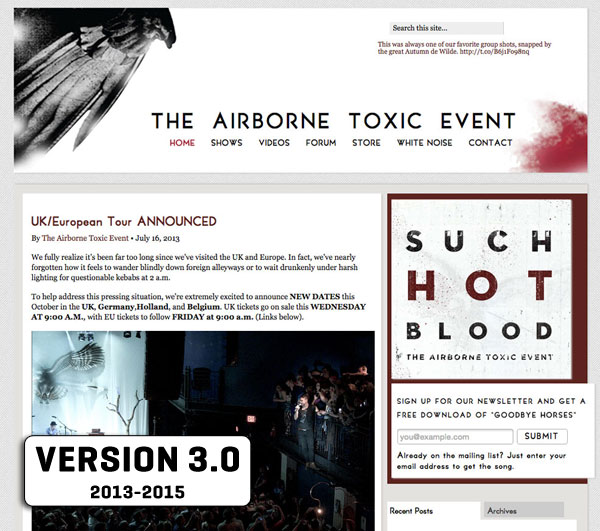 The Airborne Toxic Event 3.0