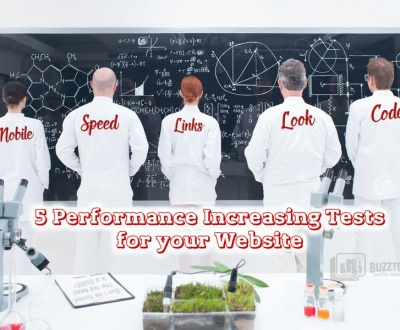 5 Performance Increasing Tests for your Website